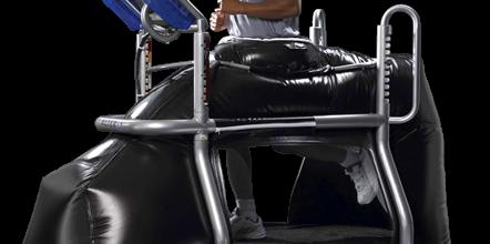 Anti-Gravity Treadmill for Sports Injury